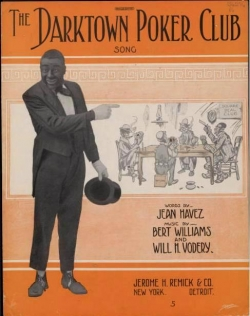 bert williams darktown poker club 1914