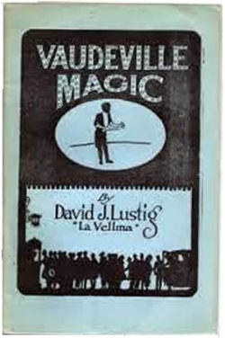david lustig vaudeville magic 1920